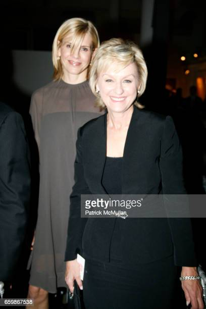 Alexis Stewart and Tina Brown attend MARTHA STEWART Center for Living at Mt Sinai 2nd Annual Gala at Martha Stewart Headquarters on November 10 2009...