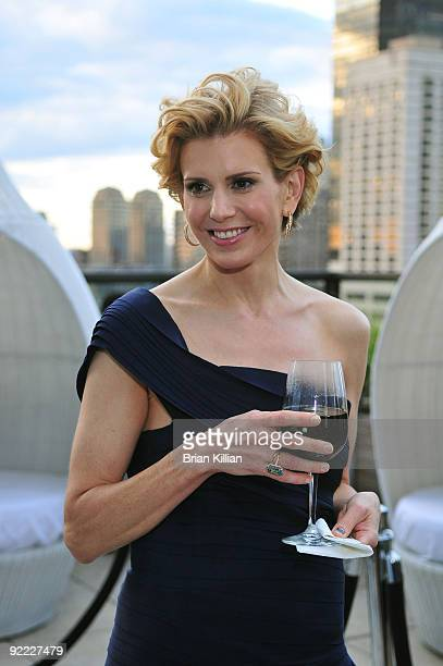 Alexis Stewart attends the launch party for Whatever Martha at the Empire Hotel Roof Deck on September 10 2008 in New York City