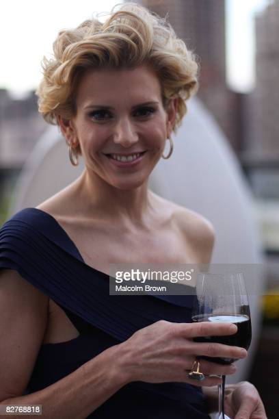 Alexis Stewart attends the Whatever Martha series launch party at the Empire Hotel Roof Deck on September 10 2008 in New York City