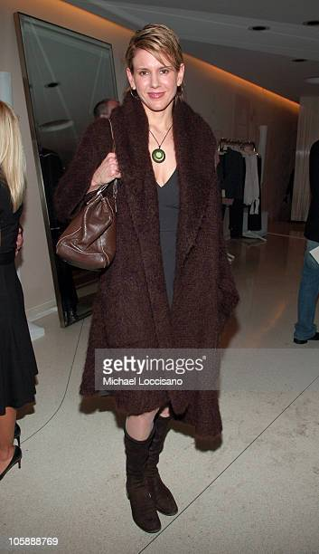 Alexis Stewart during Olympus Fashion Week Fall 2006 Pamela Anderson Hosts PeTA's Fashion Week Bash at Stella McCartney Store in New York City New...