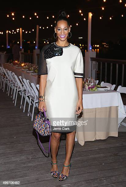 Alexis Stoudemire attends the Bloomberg Pursuits Dinner at The Standard Hotel Spa on December 2 2015 in Miami Beach Florida