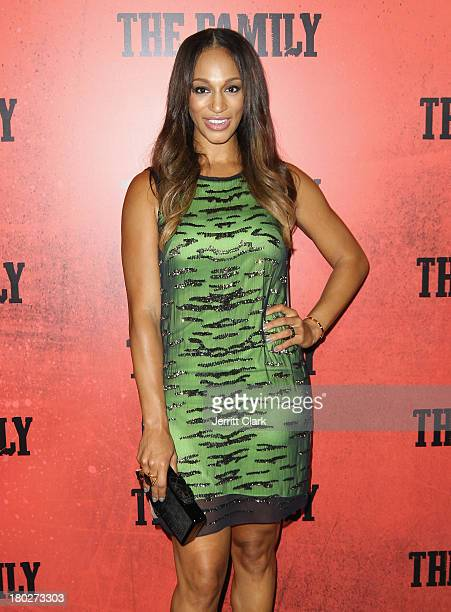 Alexis Stoudemire attends The Family World Premiere at AMC Lincoln Square Theater on September 10 2013 in New York City