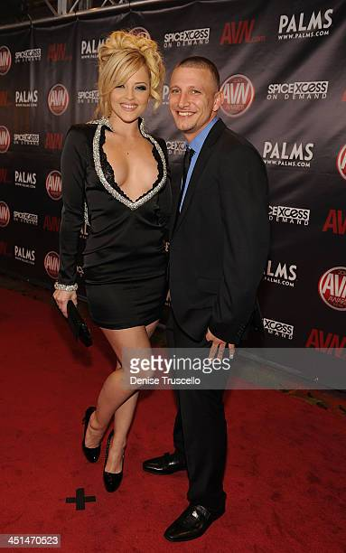 Alexis Texas and Mr Pete arrives at the 2010 AVN Awards at the Pearl at The Palms Casino Resort on January 9 2010 in Las Vegas Nevada