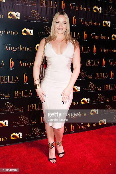 Alexis Texas arrives at the 2016 City Gala Fundraiser at The Playboy Mansion on February 15 2016 in Los Angeles California