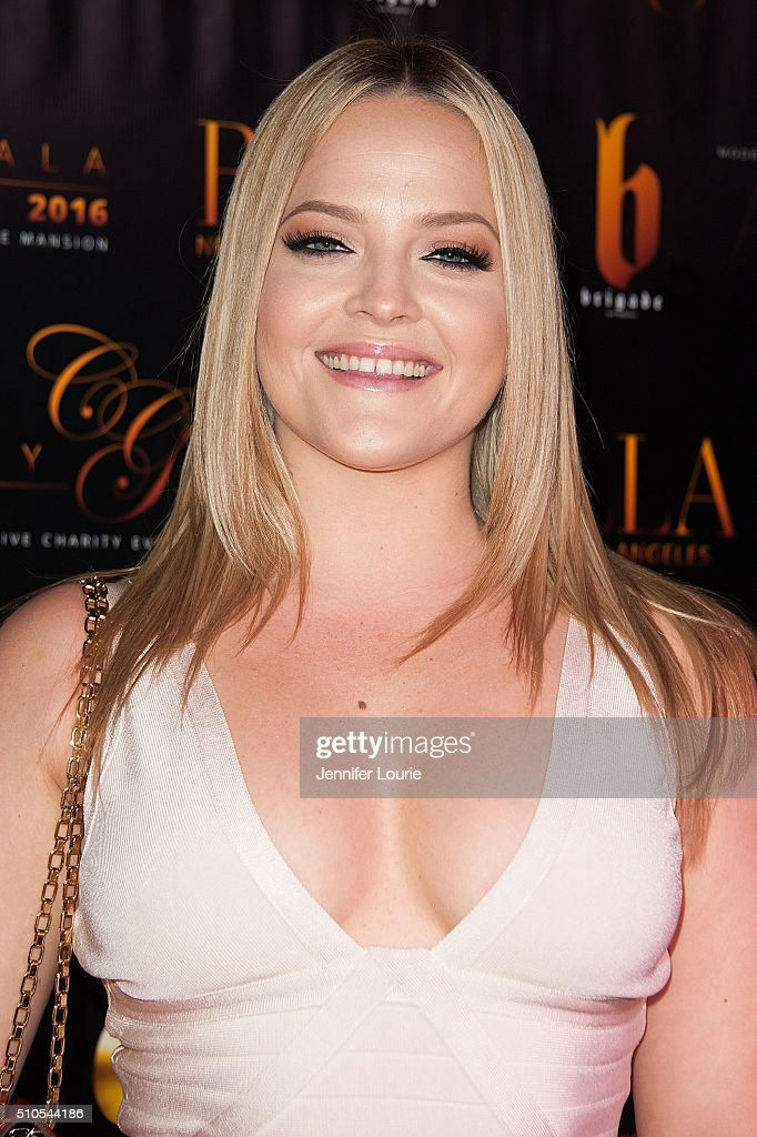 Alexis Texas arrives at the 2016 City Gala Fundraiser at The Playboy Mansion on February 15, 2016 in Los Angeles, California.