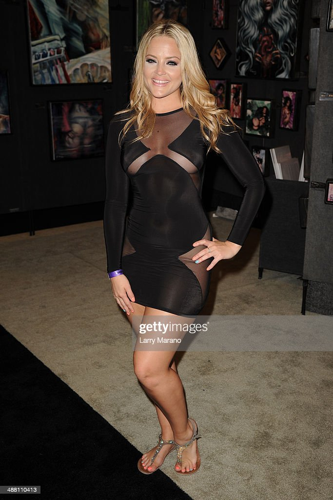Alexis Texas Attends Exxxotica 2014 On May 3 2014 In Fort