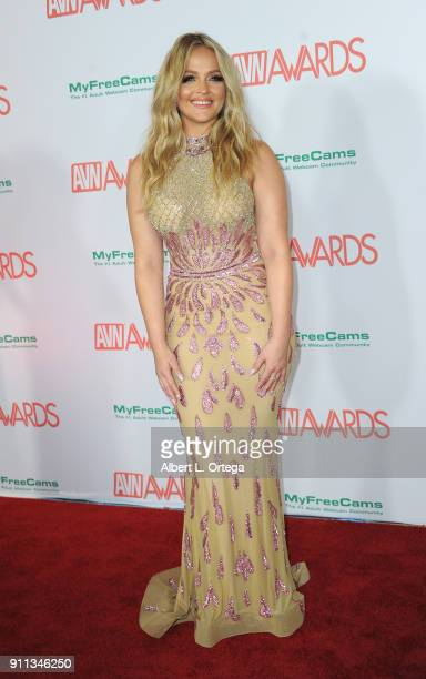 Alexis Texas attends the 2018 Adult Video News Awards held at Hard Rock Hotel Casino on January 27 2018 in Las Vegas Nevada