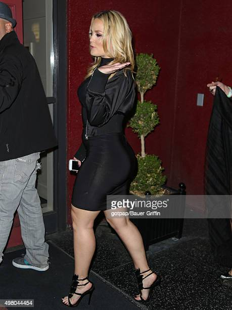 Alexis Texas is seen on November 19 2015 in Los Angeles California