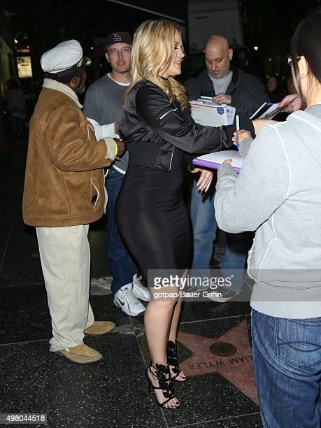 Alexis Texas is seen on November 19 2015 in Los Angeles California