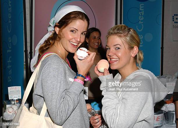 Alexis Thorpe and Kirsten Storms at Bath Ice Cream