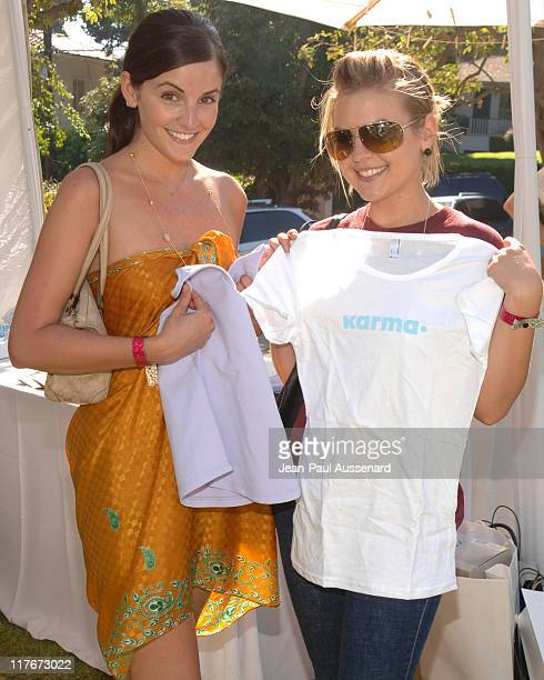 Alexis Thorpe and Kirsten Storms at Karma during The Silver Spoon Hollywood Buffet PreEmmys Day 2 in Los Angeles California United States Photo by...