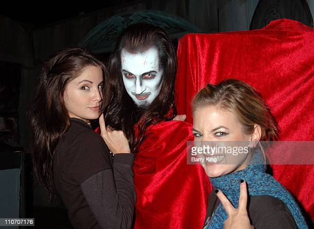 Alexis Thorpe and Kirsten Storms in Lore of the Vampire Maze