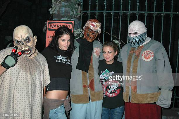 Alexis Thorpe and Kirsten Storms in The Asylum Maze