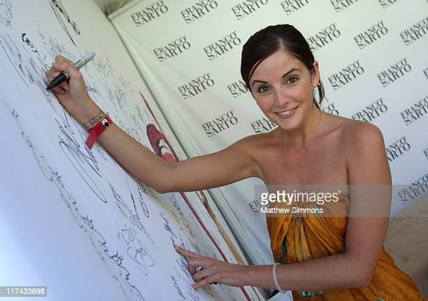 Alexis Thorpe at Sarto during The Silver Spoon Hollywood Buffet PreEmmys Day 2 in Los Angeles California United States Photo by Matthew...