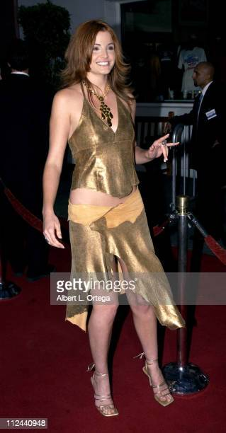 Alexis Thorpe during American Wedding Premiere in Universal City California United States