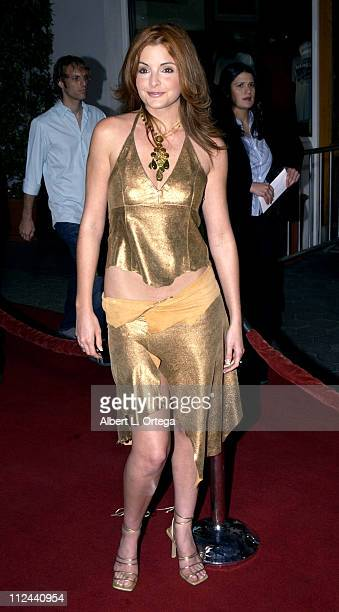 Alexis Thorpe during 'American Wedding' Premiere in Universal City California United States