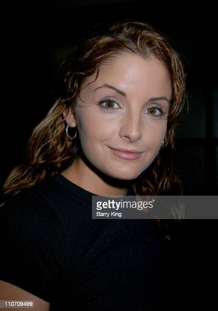 Alexis Thorpe during An Evening With The Stars Benefit For The Desi Geestman Foundation at The Ivar in Hollywood California United States