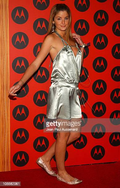 Alexis Thorpe during Motorola's 6th Anniversary Party Benefiting Toys for Tots Arrivals at Music Box Theatre in Hollywood California United States