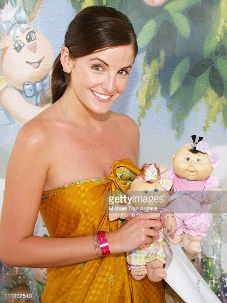 Alexis Thorpe during Silver Spoon Buffet at the 'Cabbage Patch Kids Newborns' Booth Day 2 at Wattles Mansion in Hollywood California United States