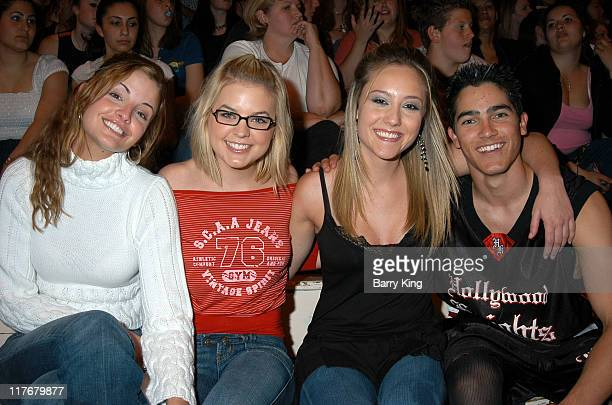 Alexis Thorpe Kirsten Storms Lauren Mayhew and Tyler Hoechlin