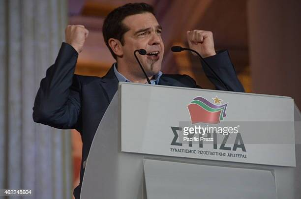 Alexis Tsipras at 40 is considered to be one of the youngest politicians and the second youngest prime minister in GreeceSYRIZA left wing political...