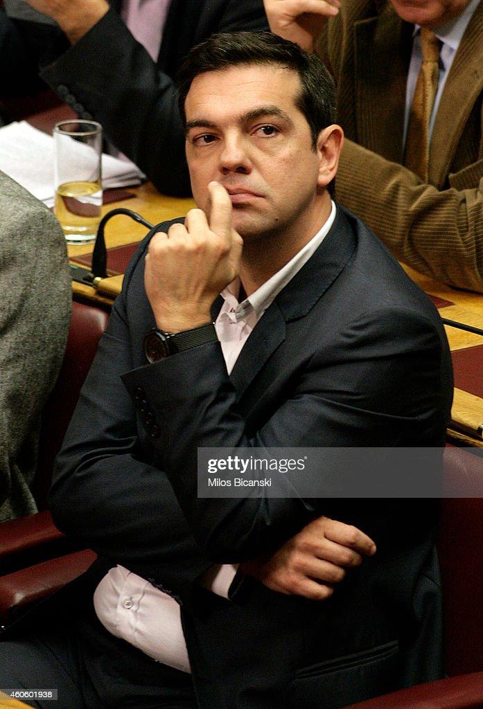 Greek Parliament Votes On Presidency : News Photo