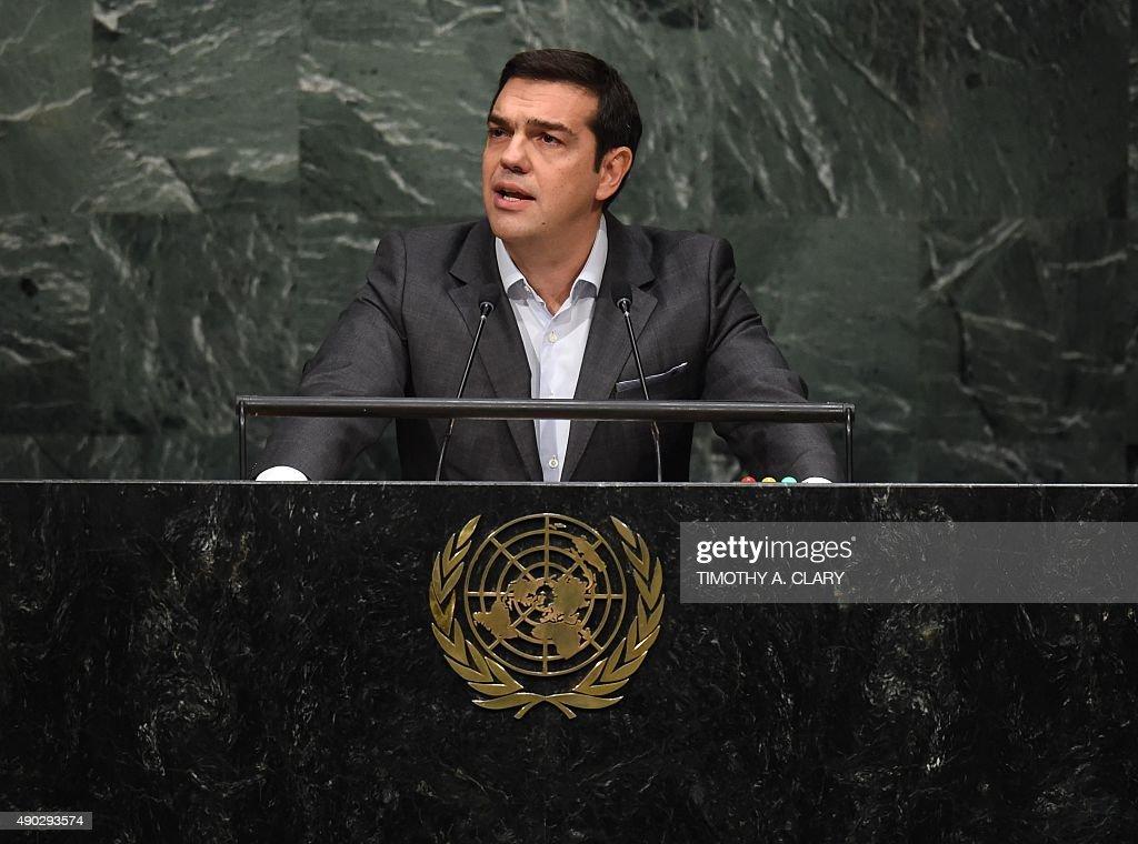 UN-GENERAL ASSEMBLY-SUMMIT : News Photo