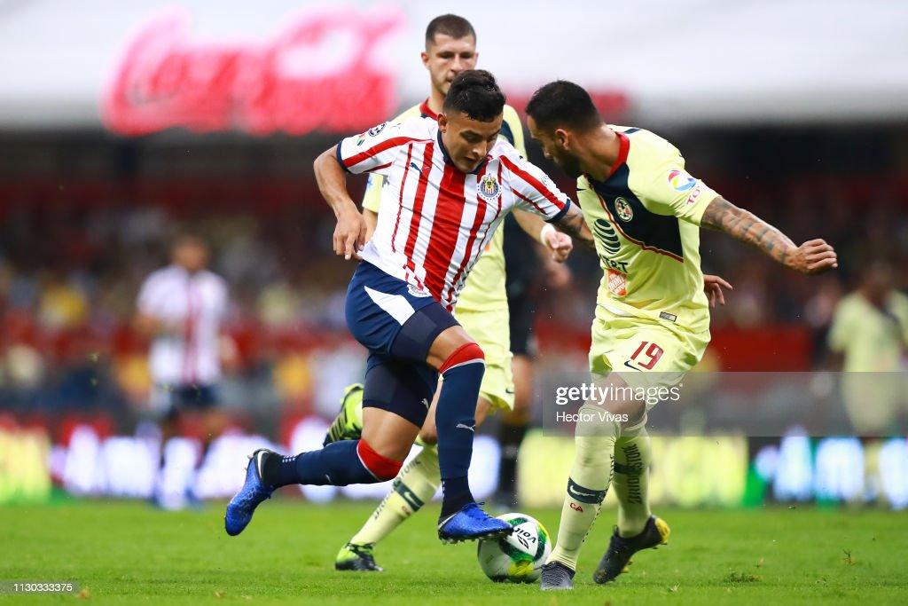 America v Chivas - Copa MX Clausura 2019 : Fotografía de noticias