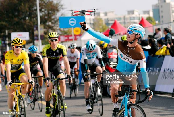 Alexis Vuillermoz of France and Team AG2R La Mondiale / Dron / during the 2nd Tour de France Shanghai Criterium / TDF / on November 17 2018 in...
