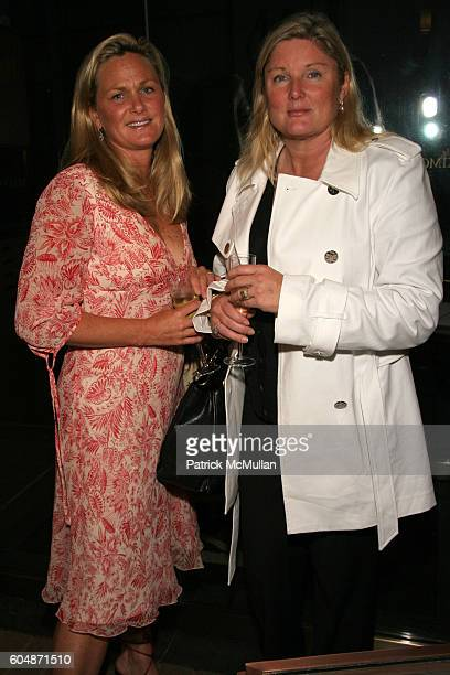 Alexis Waller and Courtney Arnot attend Kickoff of The Society of Memorial SloanKettering Cancer Center's Preview Party for The Haughton...