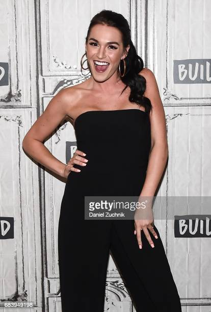 Alexis Waters attends the Build Series to discuss the 'Bachelorette' at Build Studio on May 16 2017 in New York City