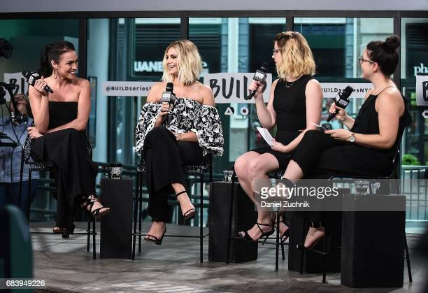 Alexis Waters Olivia Caridi Claire Fallon and Emma Gray attend the Build Series to discuss the 'Bachelorette' at Build Studio on May 16 2017 in New...