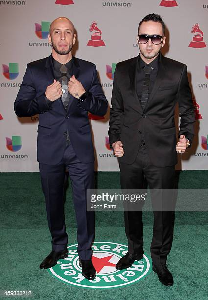 Alexis Y Fido attend the 15th annual Latin GRAMMY Awards at the MGM Grand Garden Arena on November 20 2014 in Las Vegas Nevada