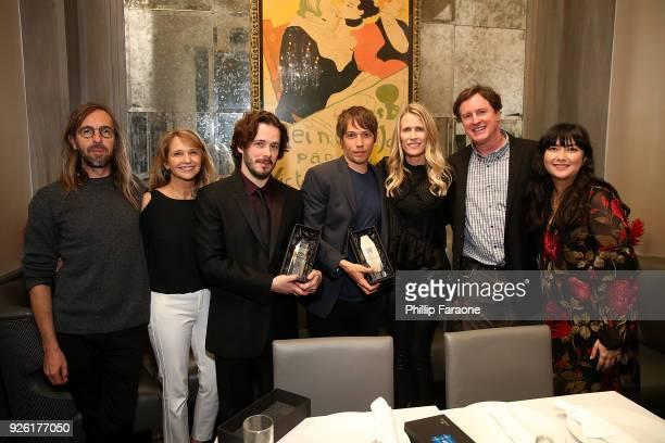 Alexis Zabe Anne Hubbell Edgar Wright Sean Baker Vanessa Bendetti Steve Bellamy and Naomi Digby attend the Kodak Motion Picture Awards Season...
