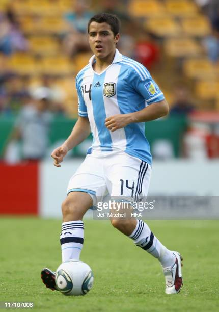 Alexis Zarate of Argentina in action during the Group B FIFA U17 World Cup between Jamaica and Argentina at the Universitario Stadium on June 21 2011...