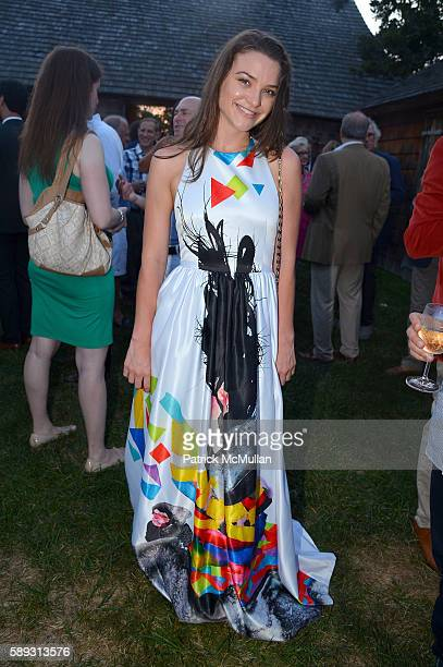 Alexis Zumwalt attends the Guild Hall Summer Gala at Guild Hall on August 12 2016 in East Hampton New York