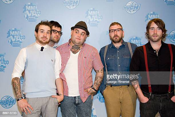 Alexisonfire attend the press room at the 20th Annual MuchMusic Video Awards at the MuchMusic HQ on June 21 2009 in Toronto Canada
