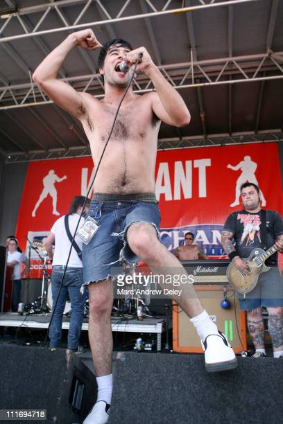 Alexisonfire during 2006 Vans Warped Tour Fitchburg at Fitchburg Airport in Fitchburg Massachusetts United States
