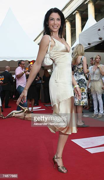 Alexnadra Polzin arrives for the Movie Meets Media Night at the Discotheque P1 on June 24 2007 in Munich Germany