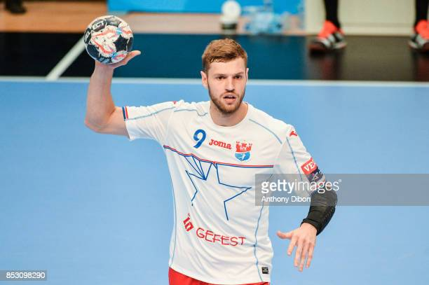 Alexsander Shkurinskiy of Brest Meshkov during champions League match between Paris SaintGermain and Brest on September 24 2017 in Paris France