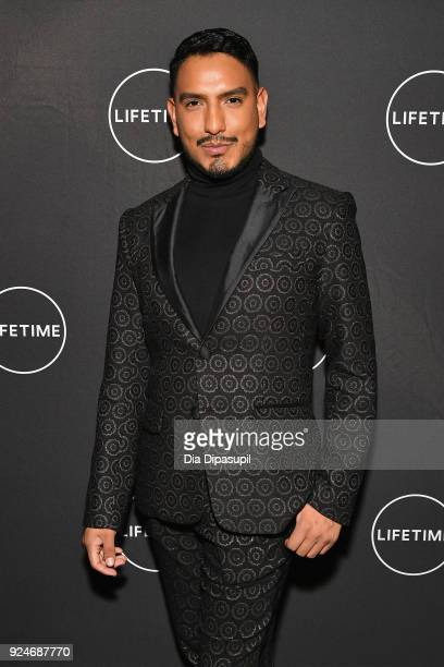 Alexx Mayo attends the exclusive premiere event of Lifetime's new show 'Glam Masters' with the cast and executive producer at Dirty French on...