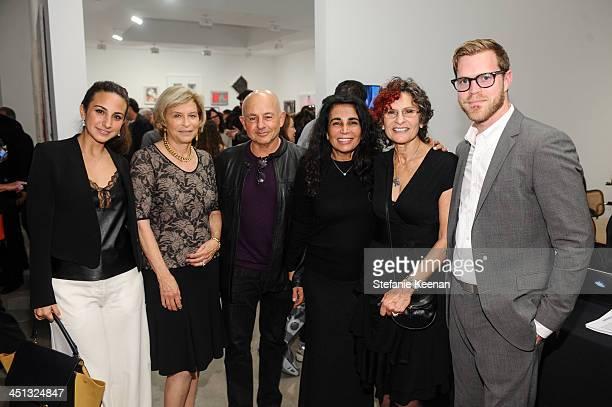 Alexys Schwarts Gail Hollander Samuel Schwartz Shanit Schwartz Susan Hort and guest attend The Rema Hort Mann Foundation LA Artist Initiative Benefit...