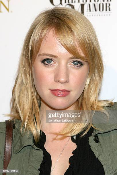 Alexz Johnson attends the OK Magazine PreOscar Party at Greystone Manor Supperclub on February 23 2012 in West Hollywood California