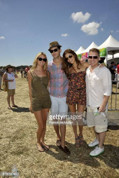 Alexzandra Palmer Gabe Saporta Tina Marie Clark Matt Levine attend Super SaturdayNova's Ark Project on July 31 2010 in Water Mill New York
