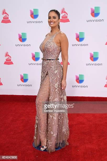 Aleyda Ortiz attends The 17th Annual Latin Grammy Awards at TMobile Arena on November 17 2016 in Las Vegas Nevada