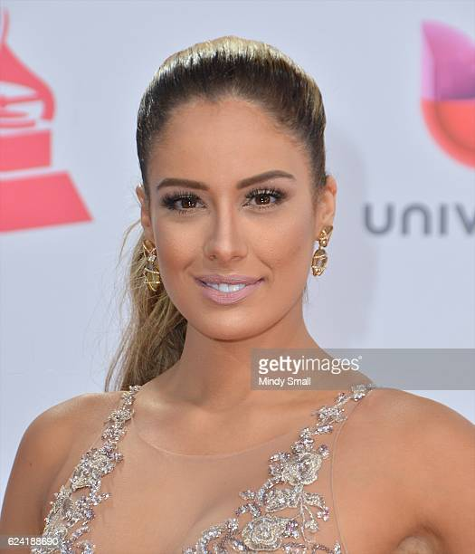 Aleyda Ortiz attends the 17th Annual Latin Grammy Awards at TMobile Arena on November 17 2016 in Las Vegas Nevada