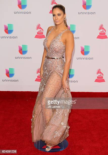 Aleyda Ortiz attends the 17th Annual Latin Grammy Awards on November 17 2016 in Las Vegas Nevada