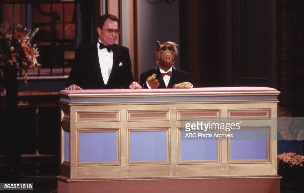 Alf on stage at The 40th Primetime Emmy Awards on August 28 1988 at Pasadena Civic Auditorium in Pasadena California