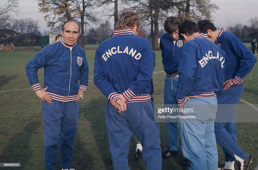 Alf Ramsey And England Squad