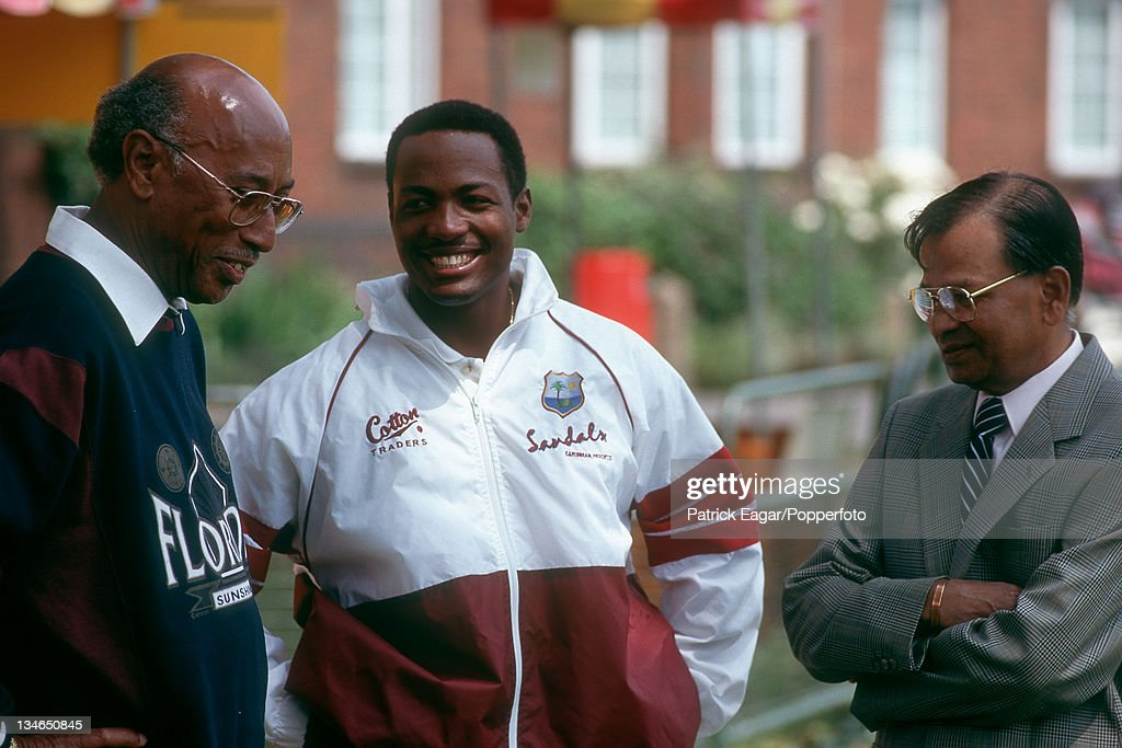 England v West Indies, 2nd  Test, Lord's, Jun 95 : News Photo